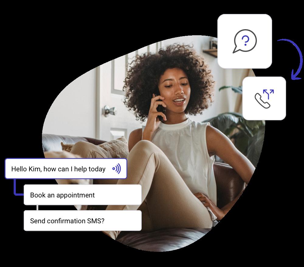 Talkie Conversational AI platform for customer service automation